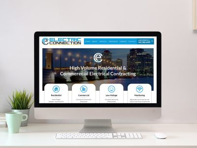 Electric Company Website Design