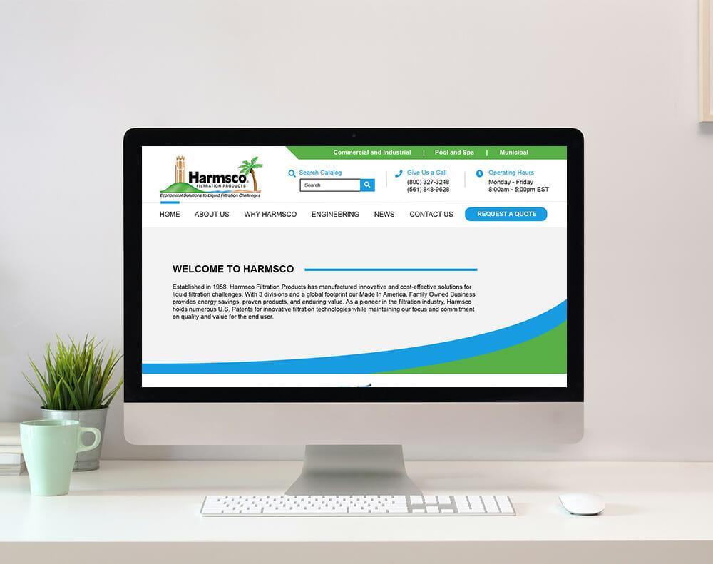 Municipal Service Website Design graphic
