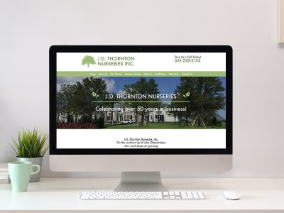 Tree Nursery Website Design